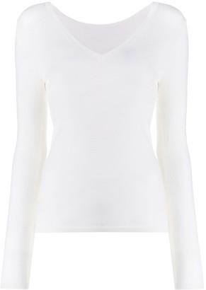 P.A.R.O.S.H. v-neck sweatshirt