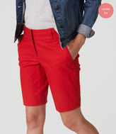 LOFT Basketweave Walking Shorts in Julie Fit