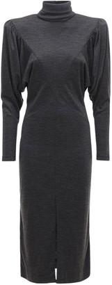 Isabel Marant Genia Jersey Midi Dress