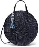 Rebecca Minkoff 'Straw Circle' crossbody bag