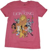 Disney Lion King Group Shot Graphic T-Shirt