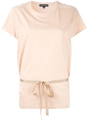 Ann Demeulemeester Short Sleeved T-Shirt With Belt