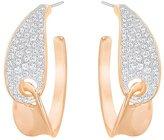 Swarovski Women's Stud Earrings Stainless Steel with White 2.5 cm – 5279152