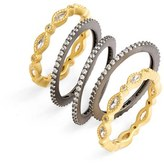 Freida Rothman Eternity Stacking Rings (Set of 5)