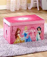 The Lakeside Collection Kids' Collapsible Storage Trunk-Disney Princess