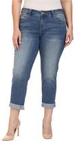 Jag Jeans Plus Size Alex Boyfriend in Rockwater Blue Capital Denim