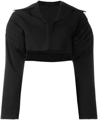 Yohji Yamamoto cropped bolero jacket