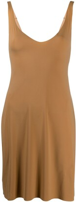Wolford U-neck slip shape dress