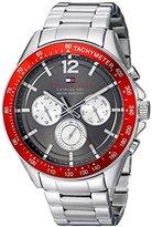 Tommy Hilfiger Men's 1791122 Sophisticated Sport Analog Display Quartz Silver Watch