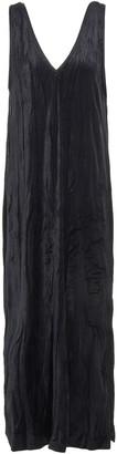 Ninety Percent Crushed-velvet Maxi Dress