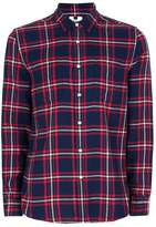 Topman Red and Blue Check Casual Shirt