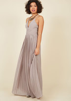 Beautifully By Your Side Maxi Dress in Stone in M