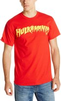 WWE Men's Hulkamania Hulk Hogan and Yellow Tee
