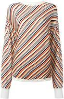 Aalto diagonal stripe jumper