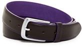Tailorbyrd Colored Contrast Stitch Leather Belt
