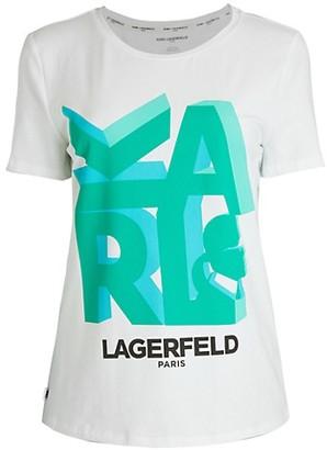 Karl Lagerfeld Paris 3D T-Shirt