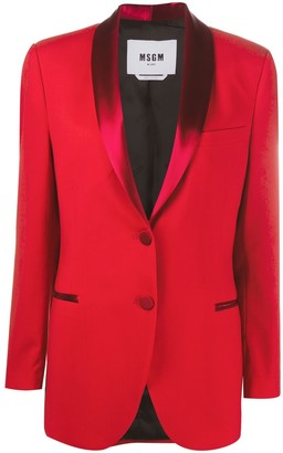 MSGM Single-Breasted Blazer