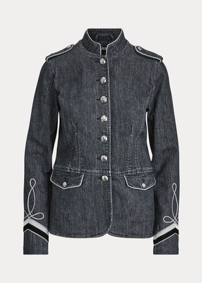 Ralph Lauren Embroidered Denim Jacket