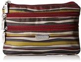 Baggallini 3 Zip Case JAV STP Cosmetic Bag