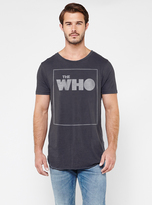 Junk Food Clothing The Who Shirttail Tee