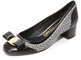 Salvatore Ferragamo Eva Leather Pumps