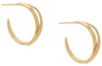 Wouters & Hendrix Small Wrap Hoop Earrings