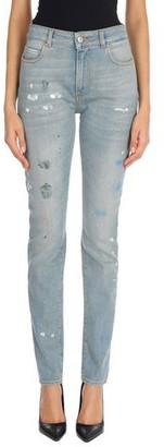 ALEXACHUNG Denim trousers