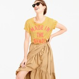 "J.Crew ""Made in the shade"" T-shirt"