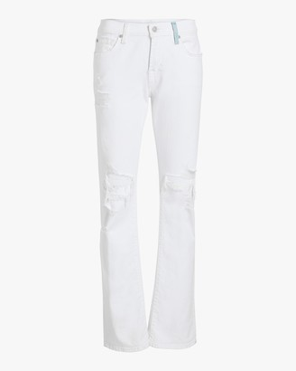 7 For All Mankind Low-Rise Straight Jeans