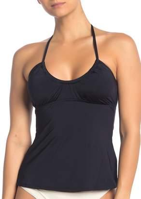 Trina Turk Getaway Solid Tankini Bikini Top