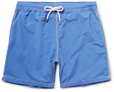 Hartford Mid-length Swim Shorts - Blue