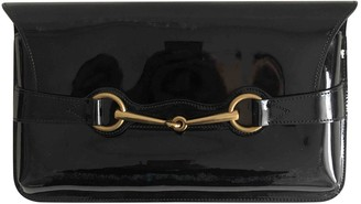 Gucci Black Patent leather Clutch bags