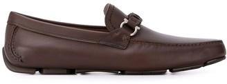 Salvatore Ferragamo Gancini braided strap loafers