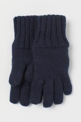 H&M Lined Gloves - Blue