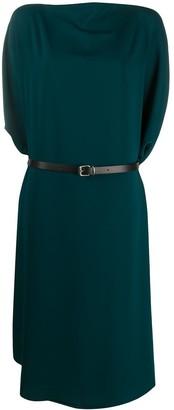MM6 MAISON MARGIELA Draped Midi Dress