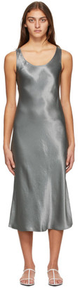 MAX MARA LEISURE Grey Talete Dress