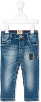 Levi's Kids patch embroidered jeans