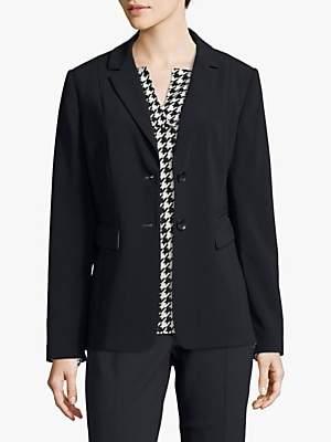 Betty Barclay Tailored Crepe Jacket, Dark Sky