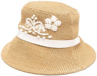 Ermanno Scervino Embroidered Bucket Hat