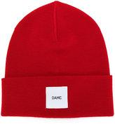 Oamc logo patch beanie - men - Virgin Wool - One Size