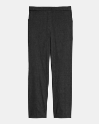 Theory Treeca Pull-On Pant in Good Linen