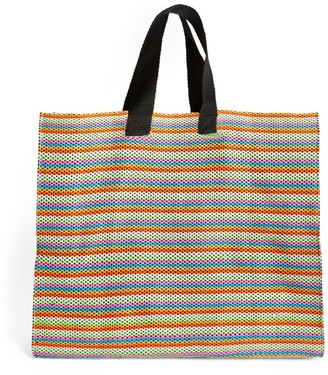 Sophie Anderson Oversized Striped Mercato Market Tote Bag