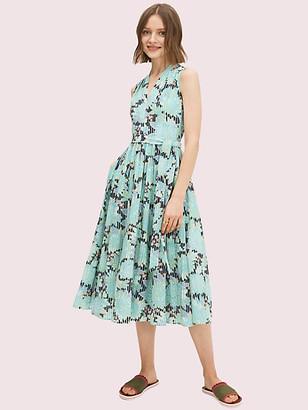 Kate Spade Dahlia Bloom Burnout Dress