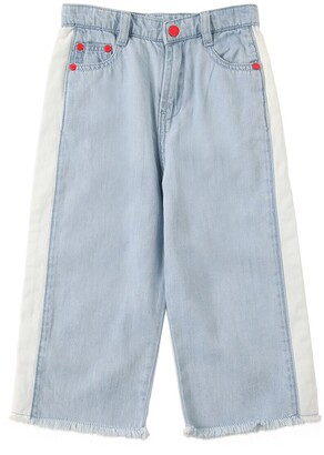 Little Marc Jacobs Stretch Flared Denim Jeans