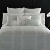 Vera Wang Painted Stripe Duvet Cover