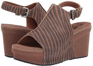 OTBT Jaunt (Tan) Women's Wedge Shoes