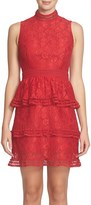 CeCe Women's Brea Tiered Lace Sheath Dress
