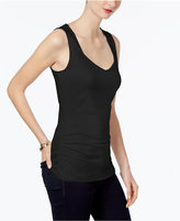 INC International Concepts Ruched Tank Top, Created for Macy's