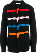 Givenchy contrast button cardigan - men - Wool - M