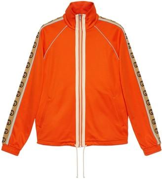 Gucci Technical jersey oversize jacket